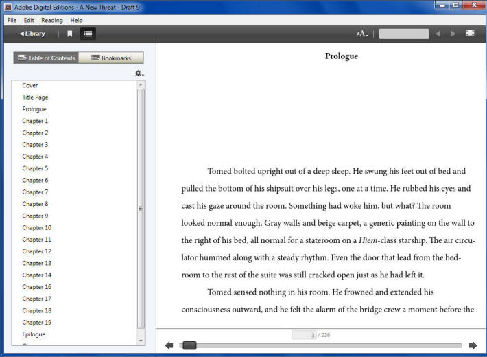 ePub Reader Software